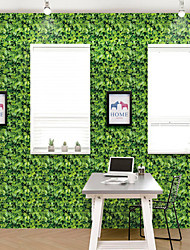 cheap -Wallpaper Wall Cover Sticker Film Peel and StickRemovable Self Adhesive Green Meadow Vinyl PVC Home Decoration 1000*45cm