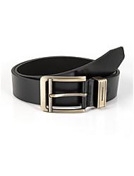 cheap -Men's Waist Belt Going out Festival Black Belt Solid Color