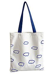 cheap -new korean version ins new canvas bag shoulder bag female student casual large-capacity portable shopping bag ins korean style