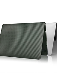 """cheap -MacBook Case Solid Colored Carbon Fiber for A2179 MacBook New Air 13""""2020"""