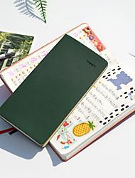cheap -Undated Pocket Weekly Planner Schedule Organizer Agenda Year Month Week Plan notebook back to school office 94*188mm 1pcs