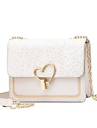 cheap -Women's Bags Crossbody Bag Party Shopping Sequins Evening Bag Blushing Pink Light Purple White Black