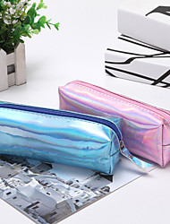 cheap -laser pencil case simple ladies cosmetic bag cylinder storage bag students stationery pencil bag