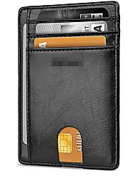 cheap -Slim Wallet RFID Front Pocket Wallet Minimalist Secure Thin Credit pocket card holder 11.0 cm * 8.0 cm * 2.0 cm