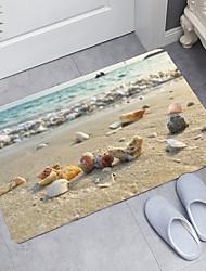 cheap -Conch Series Digital Printing Floor Mat Modern Bath Mats Nonwoven / Memory Foam Novelty Bathroom