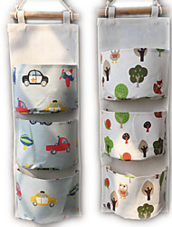 cheap -Handbag Organizer for Wardrobe Closet Transparent Storage Bag Door Wall Clear Sundry Shoe Bag with Hanger Pouch 20*60cm
