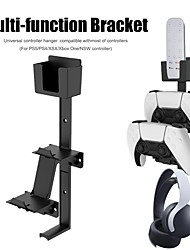 cheap -1 Set for Xbox/PS5/PS4/Switch Gaming Controller Controller Wall Mount Headphone Stand Headset Holder Hook Stand