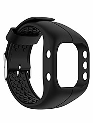 cheap -congchuaty adjustable soft silicone wrist band replacement watch strap for polar a300,smart watch bands