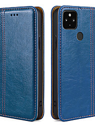 cheap -Flip Wallet Phone Case For Google Pixel 5 XL Google Pixel 4 XL Google Pixel 4a Google Pixel 3 XL Google Pixel 3a XL Google Pixel 2 XL PU Leather Full Protective Cover With Card Slot Stand