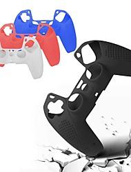 cheap -Gamepad Silicone Non-slip Protective Suitable For PS5 Accessories Controller Non-slip Cover Luminous Thumb Grip Cap