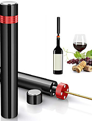cheap -Air Pump Wine Bottle Opener Safe Portable Stainless Steel Pin Cork Remover Air Pressure Corkscrew Kitchen Tools Bar Accessories