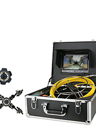 cheap -30M 50M Cable with Meterr  Sewer Pipe Inspection CameraDrain Sewer Pipeline Industrial Endoscope DVR Video Recording