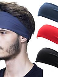 cheap -European and American Sweat Band Sports Headband Men's Hair Band Fitness Sweat Absorbing Headband Yoga Running Headband
