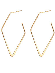 cheap -simple style personality fashion ladies alloy earrings