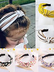 cheap -5 Pcs/set Fashion Sun Flower Knotted Headband Women HairBand Cute Tiny Flowers Hair Hoop for Women Girls Hair Accessories FG1021