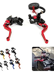 "cheap -Universal 7/8 ""22mm Motorcycle Clutch Brake Master Cylinder Reservoir Lever Kit Fluid Reservoir Set"