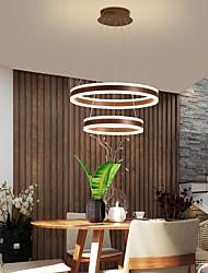 cheap -LED Pendant Light 60 cm Circle Design Lantern Desgin Square Line Design Pendant Light Acrylic Artistic Style Vintage Style Modern Style Gold Black Modern Nordic Style 220-240V