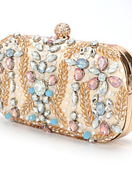 cheap -Women's Bags Clutch Evening Bag Rhinestone Crystal / Party Wedding Evening Handbags