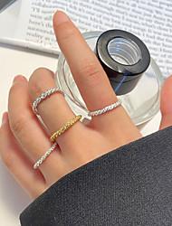 cheap -Ring Silver Gold Alloy Gypsophila Stylish Simple European 1pc One Size / Women's