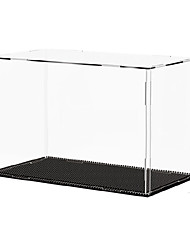cheap -Acrylic Dust Box Display Box Micro Particle Building Block Storage Cabinet Children's Toy Accessories