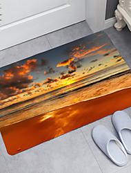 cheap -Dusk Beach Series Bathroom Mat,Memory Foam Novelty,Digital Printing Floor Mat Modern Bath Mats Nonwoven