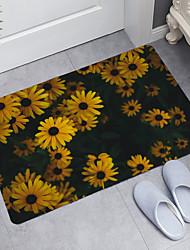 cheap -Sunflower Series Digital Printing Floor Mat Modern Bath Mats Nonwoven / Memory Foam Novelty Bathroom