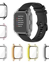 cheap -Cases For Garmin Garmin Venu Sq TPU Screen Protector Smart Watch Case Compatibility