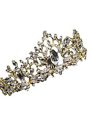 cheap -Baroque Crown Wedding Ornament Hair Ornament Crown Bride Headdress European and American Style Hair Band