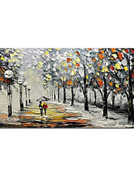 cheap -Oil Painting Handmade Hand Painted Wall Art Landscape Room Decorations Home Decoration Decor Stretched Frame Ready to Hang