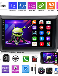 cheap -P0825 9 inch Android Car MP5 Player Car GPS Navigator Touch Screen GPS MP3 for Volkswagen / Built-in Bluetooth / WiFi