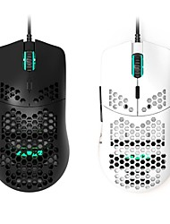 cheap -glorious model o wired gaming mouse, light weight wired mouse, matte black/white color, free shipping