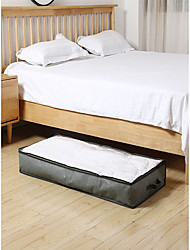 cheap -Non-woven Storage Bag Under The Bed Finishing Bag Clothing Quilt Moving Luggage Packing Bag Oversized Clothing Moisture-proof Storage Bag 103*45*15cm
