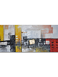 cheap -Oil Painting Handmade Hand Painted Wall Art Abstract Colorful Architecture Home Decoration Decor Stretched Frame Ready to Hang