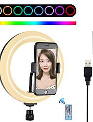 cheap -6 Inch Video Light PULUZ Portable Adjustable Brightness for Tiktok Makeup Live Streaming Video Studio Shooting Product Display