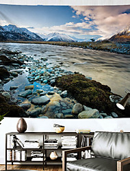 cheap -Landscape Wall Tapestry Art Decor Blanket Curtain Hanging Home Bedroom Living Room Decoration Polyester Lake Rock Mountain