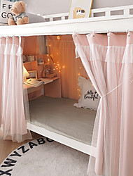 cheap -Bunk Bed Curtain Student Shading Bunk Solid Easy Install Wholesale Thickening High Net