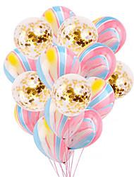cheap -Agate Latex Balloon Sequined Confetti Balloon Set Birthday Wedding Party Decoration