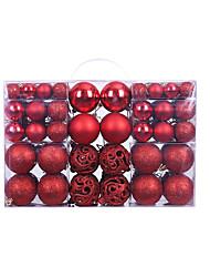 cheap -Christmas Ball Gift Box 100pcs Set 3-6cm Family Christmas Decorations Christmas Tree Pendant