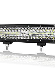 cheap -OTOLAMPARA 12 inches 800W LED Light Bar IP67 Waterproof Alumium Slot Heat Sink Tri-row LED Spot Beam LED Bar for SUV ATV UTV Pickup Truck Marine Boat