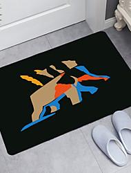cheap -Interesting Animal Series Digital Printing Floor Mat Modern Bath Mats Nonwoven / Memory Foam Novelty Bathroom