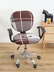 cheap -Computer Office Chair Cover Stretch Rotating Gaming Seat Slipcover Elastic Cat Animal Soft Durable Washable