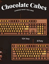 cheap -AJAZZ AK533 USB Wired Mechanical Keyboard Mechanical 104 pcs Keys