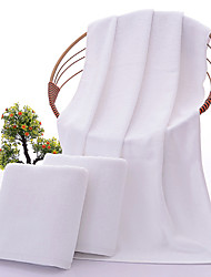 cheap -1 Pc 100% Cotton Premium Ring Spun Hand Kitchen Shower Towel(Set) Machine Washable Super Soft Highly Absorbent Quick Dry For Bathroom Hotel Spa Solid 70*140cm