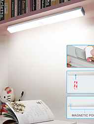 cheap -30cm Kitchen LED Bulb PIR Motion Sensor Wireless Wall Lamp USB LED Cabinet Light for Wardrobe Stair Cupboard Bed Light