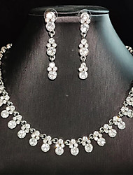 cheap -Women's Jewelry Set Earrings Jewelry Silver For Party Evening Festival