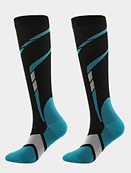 cheap -Comfort Sport Women's All Socks Multi Color Stockings Socks Medium Sport Yellow 1 Pair / Sport Socks / Athletic Socks