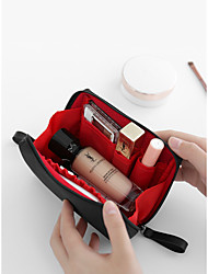 cheap -Portable Cosmetic Bag Small Portable Lipstick Storage Bag Simple Waterproof Large Capacity Korean Small Lady Wash Bag