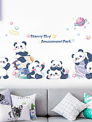 cheap -Animals Wall Stickers Bedroom / Living Room Removable PVC Home Decoration Wall Decal 1pc 60*90CM