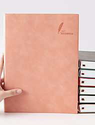 cheap -Faux Leather paper Journal Notebook back to school gift office Diary Planner Agenda Sketchbook Suitable