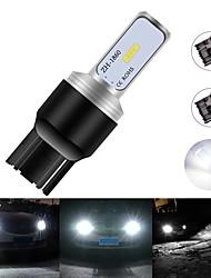 cheap -2PCS T20 7440 W21W 7443 W21/5W CSP 1860 LED 2 SMD Car Bulbs Turn Signal Lights Backup Lamp Parking Reverse Brake CAR Accessories